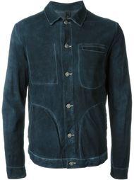 кожаная куртка на пуговицах Giorgio Brato