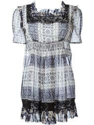 платье с оборками  Fay