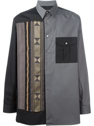 рубашка с аппликацией и нагрудным карманом Ports 1961