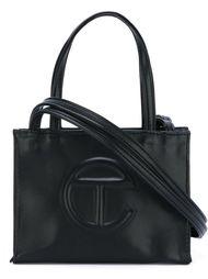 маленькая сумка с тиснением логотипа Telfar