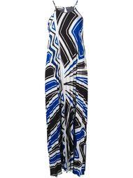 плиссированное длинное платье P.A.R.O.S.H.