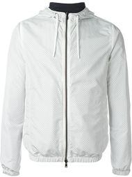 двухсторонняя перфорированная куртка-ветровка Herno