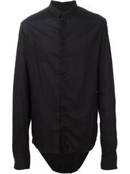 рубашка с закругленным подолом  Cedric Jacquemyn
