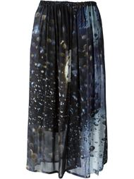 юбка с пятнистым узором Y's