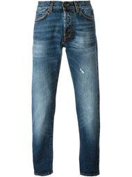 джинсы кроя слим Aspesi