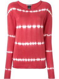 свитер 'N. Shibori' с принтом тай-дай  Suzusan