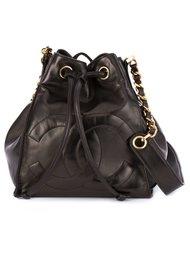 сумка-мешок на плечо Chanel Vintage
