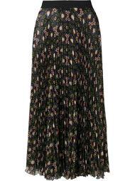 плиссированная юбка с цветочным принтом P.A.R.O.S.H.
