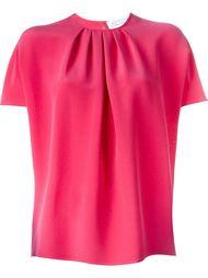 """плиссированная блузка с рукавами """"летучая мышь"""" Gianluca Capannolo"""