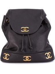 классический рюкзак с логотипом Chanel Vintage