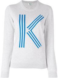 свитер с принтом Kenzo