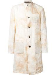 пальто с мраморным принтом Individual Sentiments