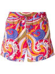 шорты для плавания с принтом пейсли Etro