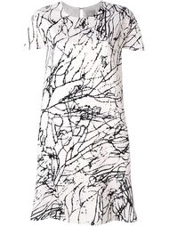 платье с абстрактным принтом Eggs