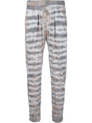 'Easy' tie-dye trousers  Raquel Allegra