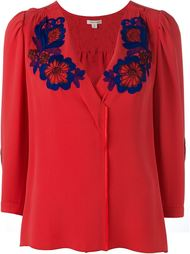 блузка с вышивкой  Marc Jacobs
