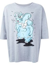 футболка с принтом слона Henrik Vibskov