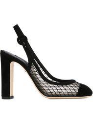 туфли с панелями из тюля Dolce & Gabbana