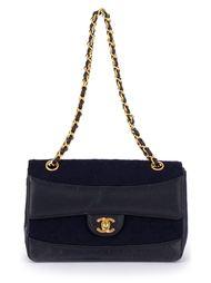 стеганая сумка на плечо с цепочными ручками Chanel Vintage
