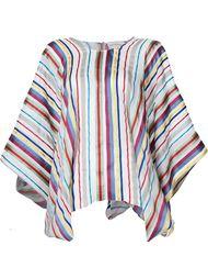 драпированная блузка в полоску Maison Rabih Kayrouz