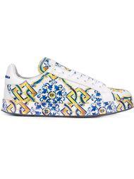 кроссовки с орнаментом Dolce & Gabbana