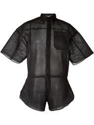 сетчатая рубашка Christopher Shannon