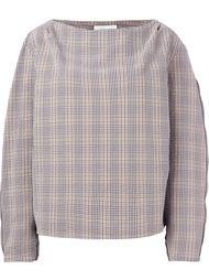 блузка в клетку  Lemaire