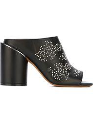 мюли на массивном каблуке  Givenchy