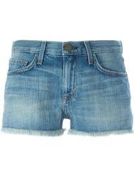 джинсовые шорты с необработанными краями Current/Elliott