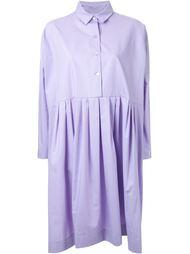 плиссированное платье-рубашка Antonio Marras
