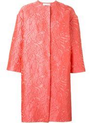 пальто с цветочным узором MSGM