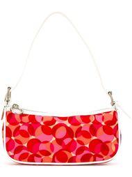 сумка на плечо с геометрическим принтом Céline Vintage