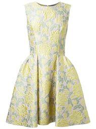 жаккардовое платье со складками Ermanno Scervino