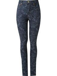 high-waisted skinny jeans Amapô
