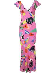 длинное платье 'Niemeyer'  Isolda