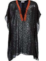 прозрачное пляжное платье Brigitte