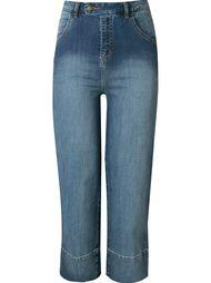 укороченные джинсы с завышенной талией Andrea Marques
