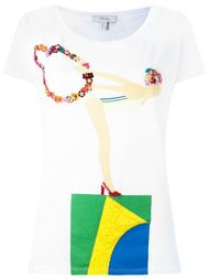 embroidered t-shirt Isolda