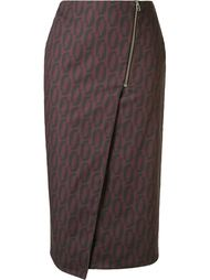 printed midi pencil skirt Andrea Marques