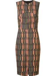 приталенное платье с круглым вырезом Andrea Marques