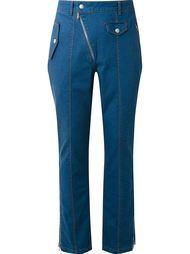 seam detail straight jeans Amapô