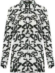 classic collar printed shirt Andrea Marques
