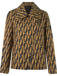 abstract print blazer Andrea Marques