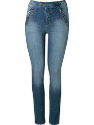 узкие джинсы средней посадки Andrea Marques
