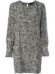 платье с леопардовым принтом Nili Lotan