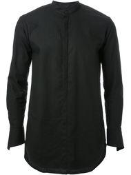 рубашка с воротником-стойкой Strateas Carlucci