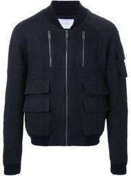 куртка-бомбер с карманами Strateas Carlucci