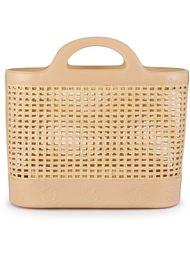 плетеная сумка-тоут Chanel Vintage