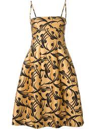 платье с растительным принтом  Eggs