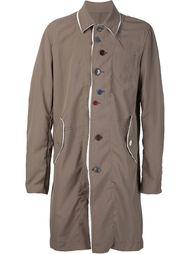 пальто на смещенных пуговицах Undercover